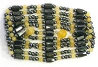 купить магнитные бусы из оникса - камнем Тельца