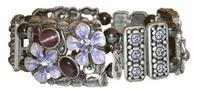 купить гематитовый браслет с яшмой - камнем Девы