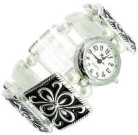 часы с браслетом из гематита - камня Скорпиона