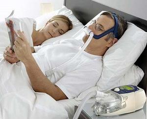 дыхательная маска CPAP для лечения храпа и апноэ сна